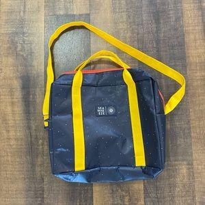 Lululemon Sea Wheeze Rare Reusable Tote Bag.